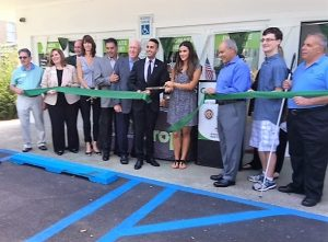 Ribbon cutting ceremony for the GreenDrop location in Springfield on August 8th, 2016.