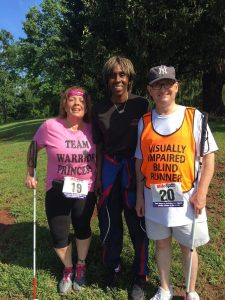 Andrew Rees, Linda Melendez, and Joetta Clark Diggs at Somerset County's 4th annual 5K Race to Wellness